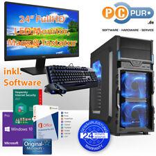 Komplett PC AMD Quad Core A8-9600  8GB DDR4 HDD Win10 Foto Multimedia Gaming