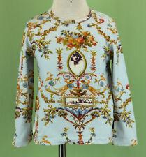 299 Jottum Rembrandt style girl top multi-color long sleeve blouse tee EUC 2