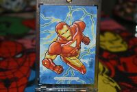 2018 Marvel Masterpieces Sketch Card of Iron Man by Leon Braojos