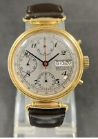 Rare Men's PRIVILEGE Automatic Chronograph Swiss Watch Valjoux 7750