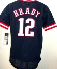 Youth Large Tom Brady New England Patriots Outerstuff Tackle Twill Jersey Shirt