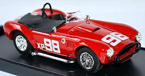 AC Cobra Riverside 1962 #98 Rouge 1:43 Bang