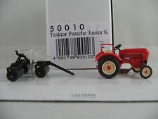 Busch 50010 Traktor Porsche Junior K (1957) mit Ackerwalze 1:87/H0 NEU/OVP