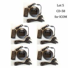 Lot 5 VAC-UNI CD-58 Li-ion Rapid Charger for Vertex Standard VX-921 VX-924 Radio