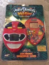 RARE NIB 2002 MGA Power Rangers Wild Force Electronic Handheld Game HTF!