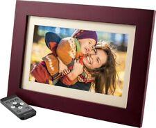 "Insignia™ - 10"" Widescreen LCD Digital Photo Frame - Espresso"