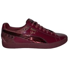 New Puma Clyde Men's Burgundy / Red Size 12 Rare Art No. 363512-02