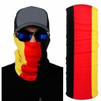 Germany German Flag Multifunctional  sunmask, Headband, Neck Gaiter or Bandana