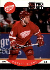 1990-91 PRO SET HOCKEY DANIEL SHANK RC CARD #78 DETROIT RED WINGS NMT/MT-MINT