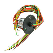 12.5mm 300Rpm 6 Wires CIRCUITSx2A Capsule Slip Ring AC 240V for Monitor Robotic