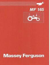 Massey Ferguson MF 165 Tractor Service Repair Workshop Manual (0019)