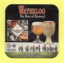 ancien sous-bock  WATERLOO  (envoi monde gratuit) sb1789