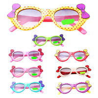 Anti-UV Sunglasses Kids Boys Baby Girls Cartoon Goggle Glasses Bow Pop Eyewear