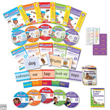 Your My Baby Can Learn & Your Child Can Read BRITISH ENGLISH Vol 1-5 DVD NEW