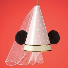 LENOX DISNEY MINNIE MOUSE OWN PRINCESS EARS HOLIDAY TREE ORNAMENT NEW RETIRED