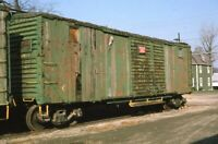 C&O Railroad Boxcar Chesapeake & Ohio Delaware OH? Original 1975 Photo Slide