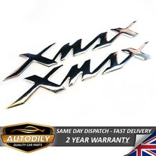 160x22mm Xmax Badge Chrome Motorbike Motorcycle Decal Fuel Tank Sticker Yamaha