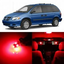 20 x Ultra RED Interior LED Lights Package For 2001- 2007 Dodge Caravan +TOOL
