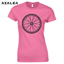 442 Bicycle Wheel Womens T-Shirt funny exercise college green spoil mountain