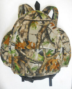 Quiet DELUX DAY PACK Fleece Vista Camouflage/Camo Hunting Archery Photography