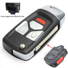 Upgraded Replacement Remote Key FOB 315Mhz With ID48 Chip For Audi 4D0 837 231 M