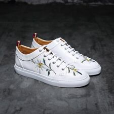 Hot Mens Embroidery Animal Sports Athletics Shoes Sneakers Trainers Lace up New