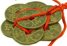 Brass Eight Immortals Coins Amulet Feng Shui Ornament