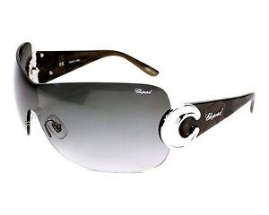 New CHOPARD Sunglasses SCH 939 0579 99/00/115 Women's Warp Pallalium Grey F/Ship