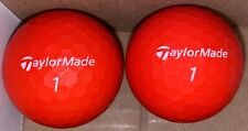 New listing TaylorMade Soft Response Red Golf Balls