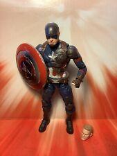 "Captain America Marvel Legends Civil War 3pk 6"" Loose Battle Damage Avengers"