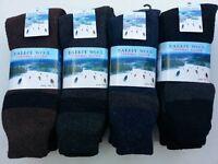 Wool Angora Thermal Men Socks Fits 10-15 Winter Outdoor Socks New Sz.10-15