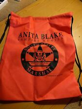 SDCC Comic Con 2010 Exclusive Anita Blake Vampire Hunter Drawstring Bag RARE NEW