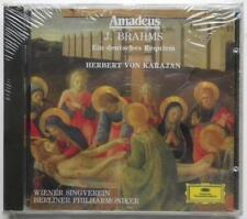 KARAJAN AMADEUS BRAHMS EIN DEUTSCHES REQUIEM 1 CD NUOVO