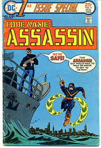 CODE NAME: ASSASSIN 1ST ISSUE SPECIAL VOL 2, No. 11, February, 1976 Comic Book