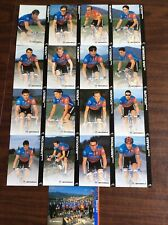 Vintage 1996 Motorola cycling Team Collector Cards-New Unopened Pack 17 Cards
