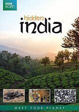 BBC EARTH : HIDDEN INDIA documentary    - DVD - REGION 2 UK