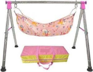 Premium Indian Style ghodiyu baby cradle folding designed with safety standards
