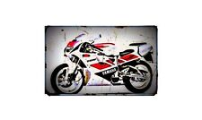 1993 tzr125r Bike Motorcycle A4 Photo Poster