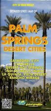 Detailed Street Map of Palm Springs & the Desert Cities, California, by Global