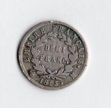 MONNAIE 1/2 FRANC NAPOLEON EMPEREUR ARGENT 1813 M ( TOULOUSE ) @ PETIT TIRAGE