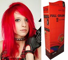 Teinture Coloration Cheveux Permanente Berina Punk Goth Emo Elfe Cosplay ROUGE