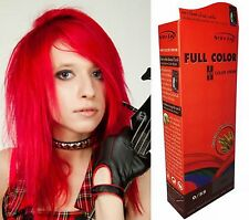 Teinture Coloration Cheveux Permanente Berina Punk Goth Emo Elfe Cosplay ROUGE