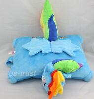 1x My little Pony Friendship is Magic Rainbow Dash Plush Pillow Cushion Handmade