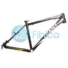 "New GIANT ATX PRO Alloy MTB Mountain Bike Frame BSA 26er 16"" Size S Black Green"