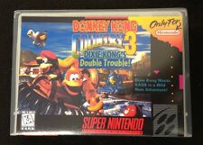 Donkey Kong Country 3 SNES Super Nintendo Custom Game Case *NO GAME*