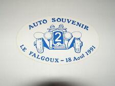 autocollant voiture ancienne auto souvenir 1991