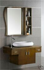 Wall Vanity Unit Solid Wood Hand Made M2004