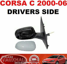 VAUXHALL CORSA C 2000-06 MANUAL CABLE PRIMED WING MIRROR RH NEW DRIVERS SIDE