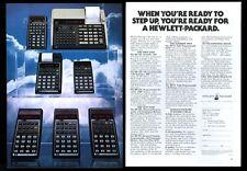 1978 HP-67 19C 29C 97 33E 32E 31E 7 calculator color photo vintage print ad