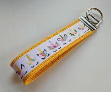 Unicorn Keychain Key Fob Wristlet